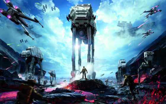 star, wars, battlefront, войны, звездные, comics, плакат, far, фотообои, rub,