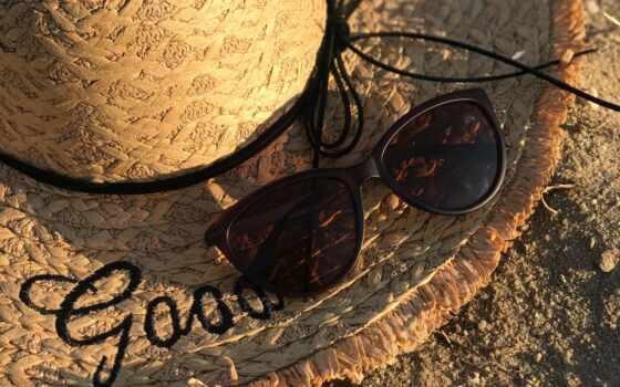 очки, шляпа, браун, life