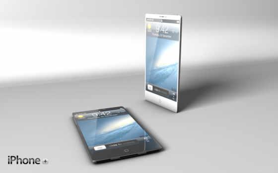 айфоны белый и чёрный