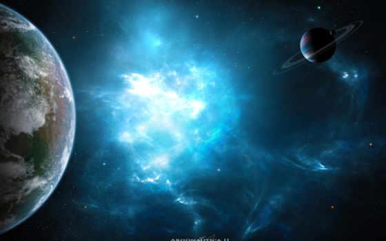 cosmos, планеты, nebula