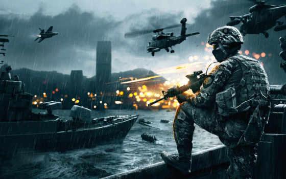 battlefield, вертолеты, солдат