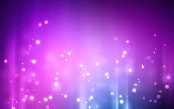 фиолетовые, круги, абстракция, шикарные, блики, пятна, янв,