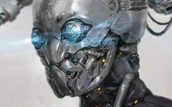 cyborg, robot, android