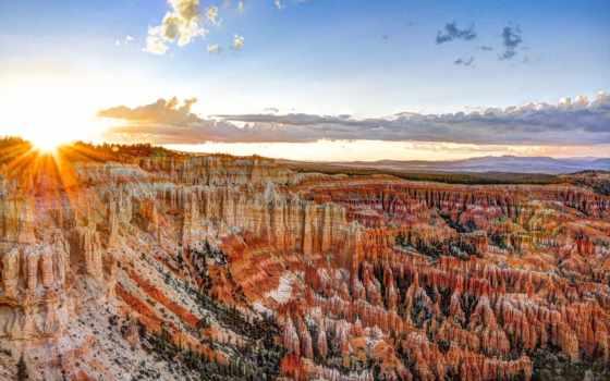 bryce, каньон, park, national, брайс, utah, сша, штата,