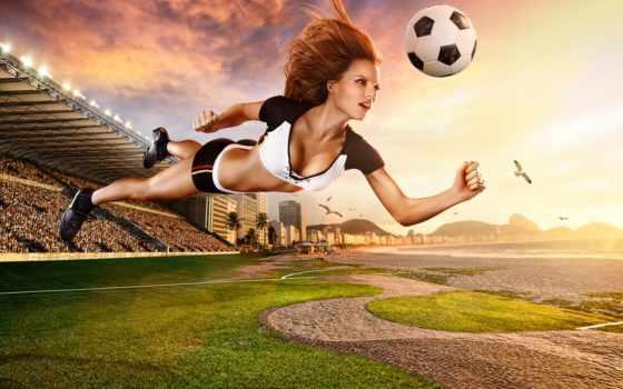soccer, women, спорт, popular, футбол, взгляд, фон, video, мяч