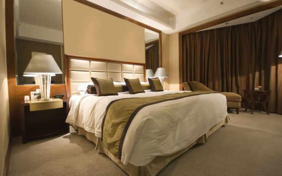 спальня, slide, комната, warm, кровать, cozy, столик, центр,