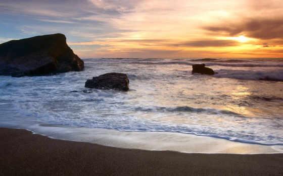 море, природа, пляж Фон № 71123 разрешение 1600x1200