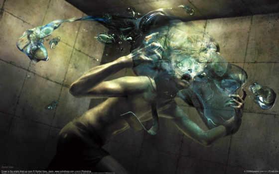 мужчина, water, картинка, ryohei, hase, ужас, ужасы,