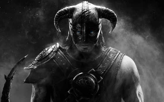 scrolls, elder, skyrim, скайрим, игры, аватарки, чёрно, вконтакте, именем, пользователей, белые,