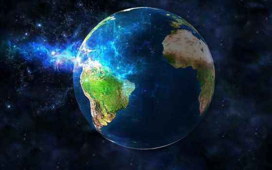 land, planet, cosmos, планеты, взгляд, космосе,
