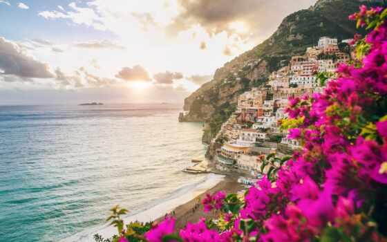побережье, italian, italy, much
