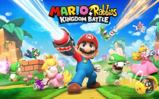rabbid, kingdom, битва, nintendo, марио, game