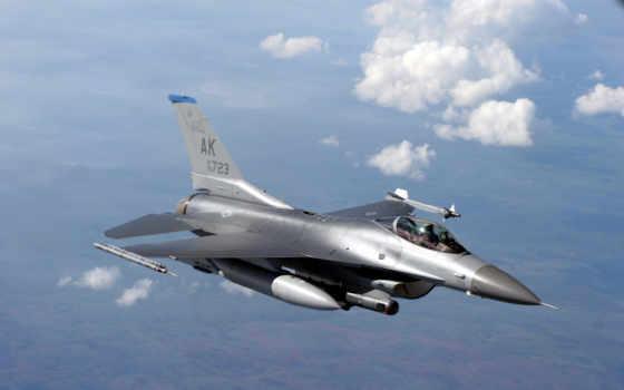 falcon, истребитель, fighting, полет, многоцелевой, картинка,