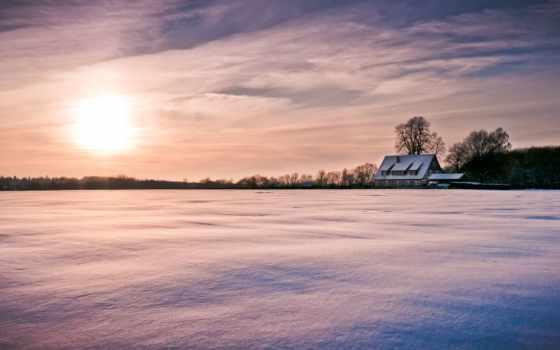снег, winter, sun Фон № 134505 разрешение 960x540