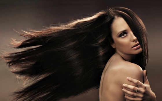волосы, длинные, волос