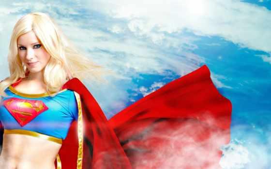 cosplay, супергёрл, супервумен