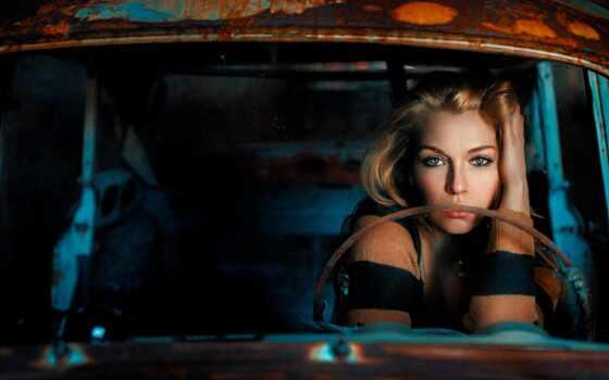 car, женщина, ржавчина, damian, wreck, модель, ria, авто, caroline, который, mobil