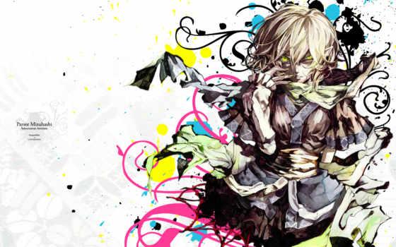 touhou, аниме, parsee, akira, mizuhashi, hair, banpai, green, eyes, short,