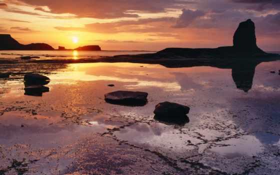 побережье, риф, desktop, high, free, definition, pictures,
