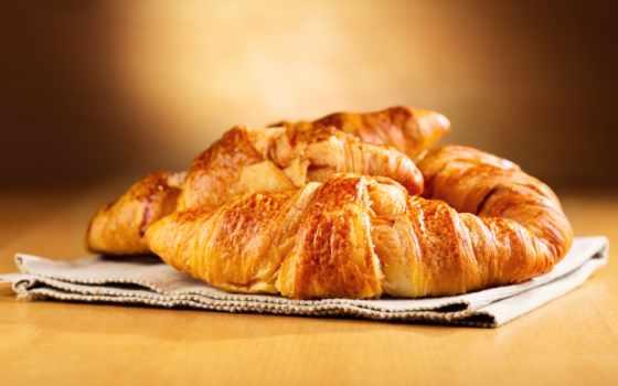 клипарт, круассаны, coffee, croissants, вектор, круассаны, cup, растровый, photos, рекламы, выпечка,