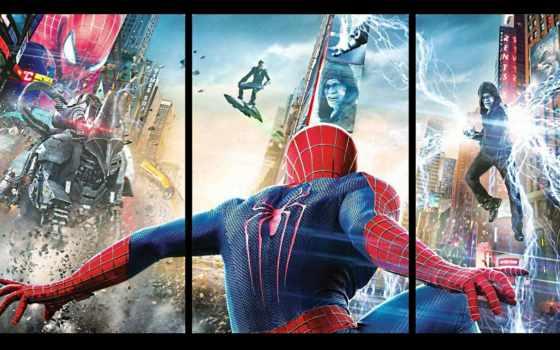мужчина, паук, amazing, electro, movie, май,