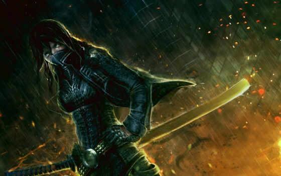 катана, меч