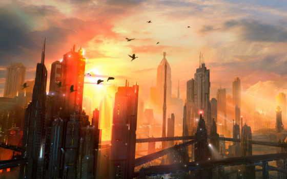 будущего, gorod, рисунки