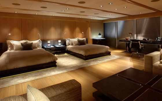 спальня, интерьер, комната, кровати, картинка, спальни, мебель, design,