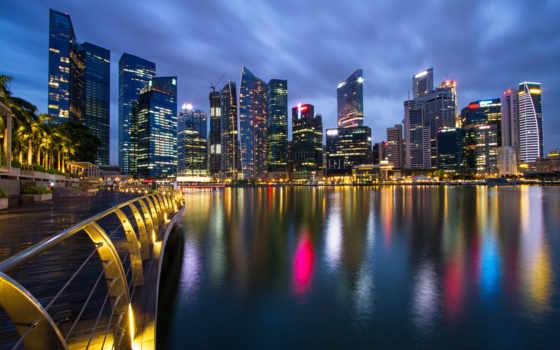 singapore, malaysia, город