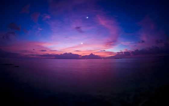 закат, purple, mix