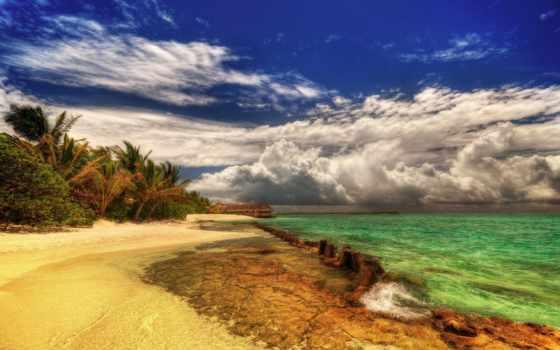 landscape, природа, пейзажи -, небо, берег, море, крыма, коллекция, фотографий, full,