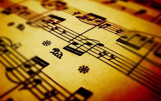 музыка, ноты, макро, разное, лист, искусства, notes, pictures,