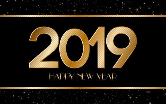 год, new, happy, card, stock, приветствие, black, gold, вектор,