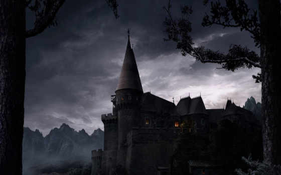 dark, fantasy, final, gothic, castle,