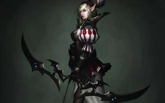 эльф, женский, archer