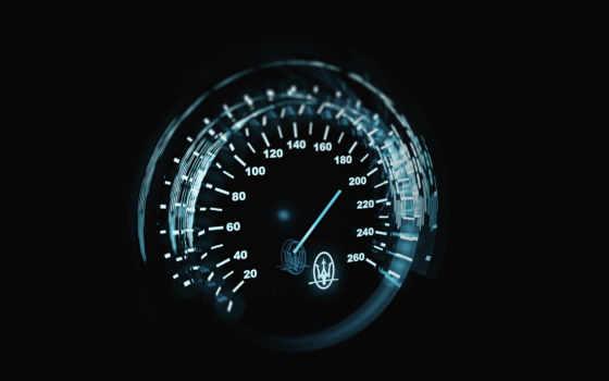 ,спидометр, свечение, скорость,