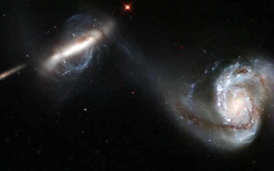 arp, galaxy, pair, interacting, image, space, outer, hubble, galaxies, чтобы, paveiksliukas, хаббл, galaktikos, hablo, žvaigždutės, stars, kosmoso,