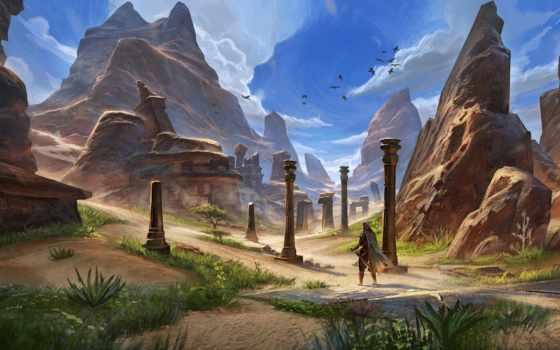 online, scrolls, elder