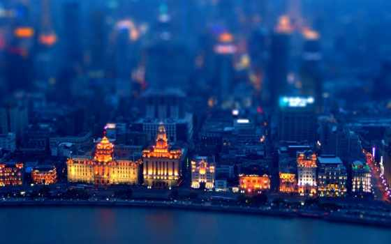 город, ночь, картинка