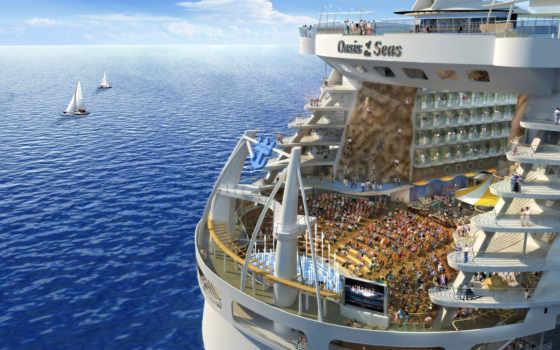 самый, мире, большой, cruise, лайнер, seas, more, time, оазис,
