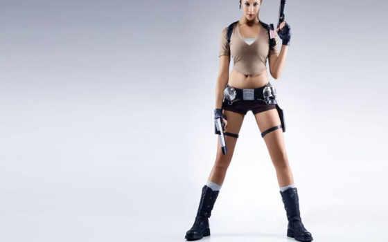 devushki, square, оружие, adebibe, девушка, крофт, милитари, karima, знаменитости,