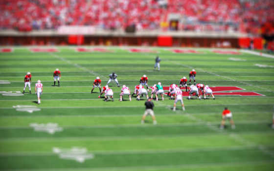 football, game, tilt, shift, download, free, photography, picture, background,