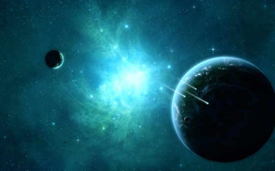 звезды, космос, планеты