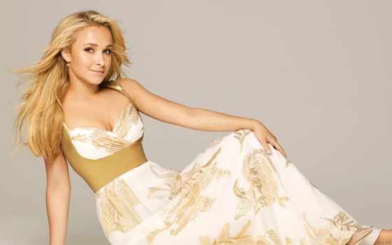 blonde, платье, hayden