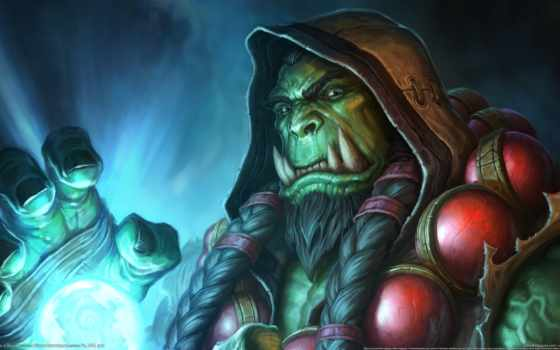 thrall, warcraft, hearthstone