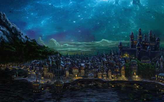 waterdeep, город, splendors, north, pinterest,