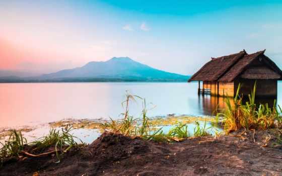 indonesia, tumblr, batur, озеро, bali, дикарка,