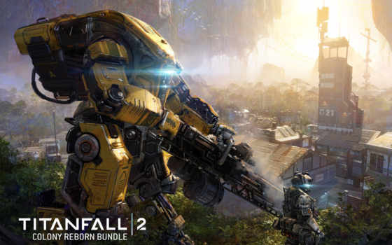titanfall, колония, reborn, dlc, игры, воители, фантастика,