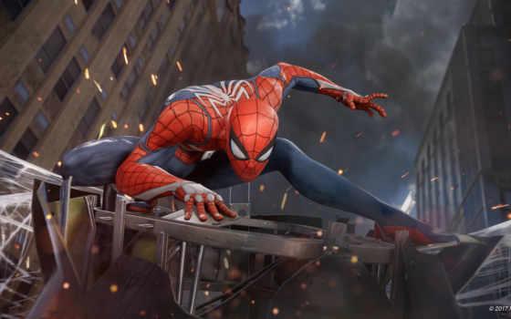 паук, мужчина, insomniac, games, marvel, игры, купальники, игр,