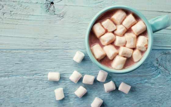 какао, marshmallow, напиток, hot, cup, chocolate, напитки,